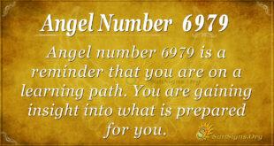Angel number 6979