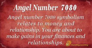 7080 angel number