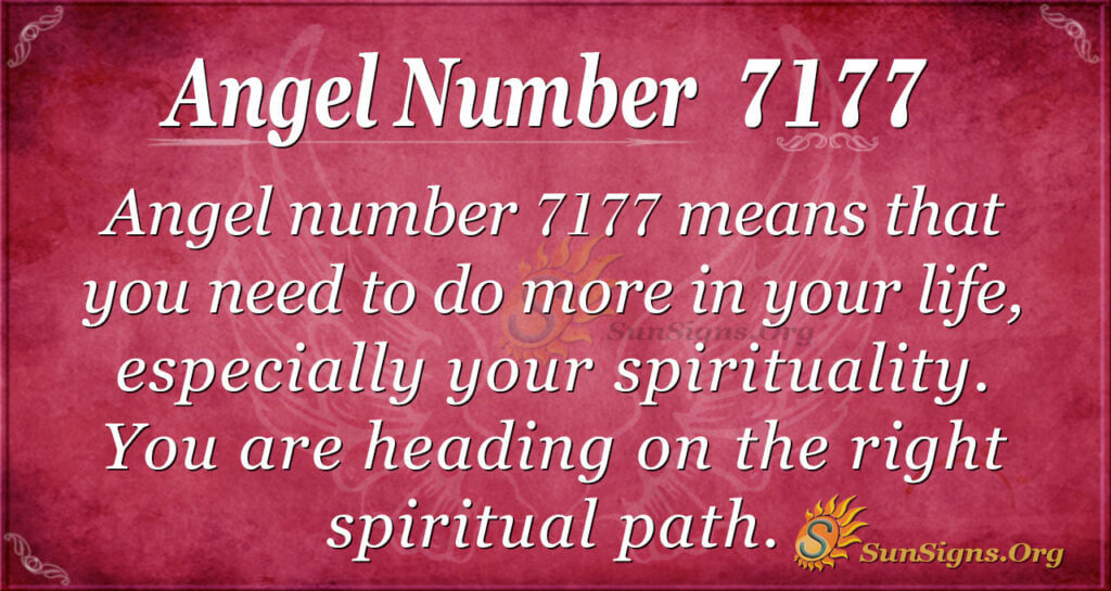 7177 angel number