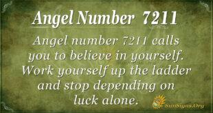 Angel number 7211
