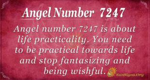 Angel number 7247