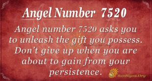 Angel number 7520