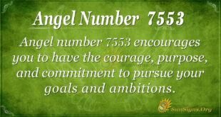 Angel number 7553