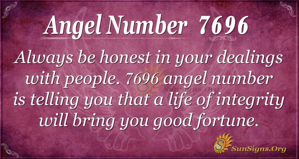 7696 angel number