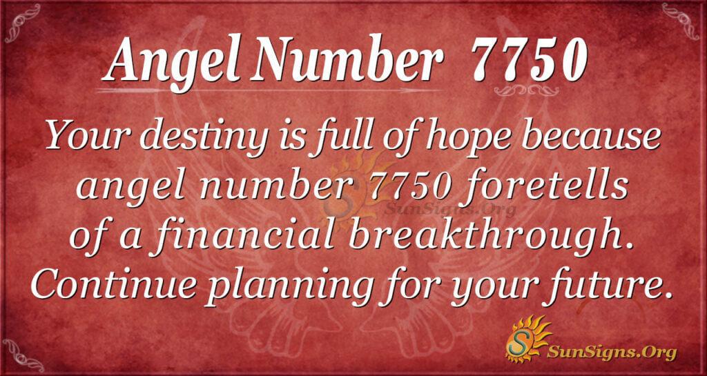7750 angel number