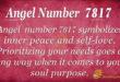 Angel Number7817