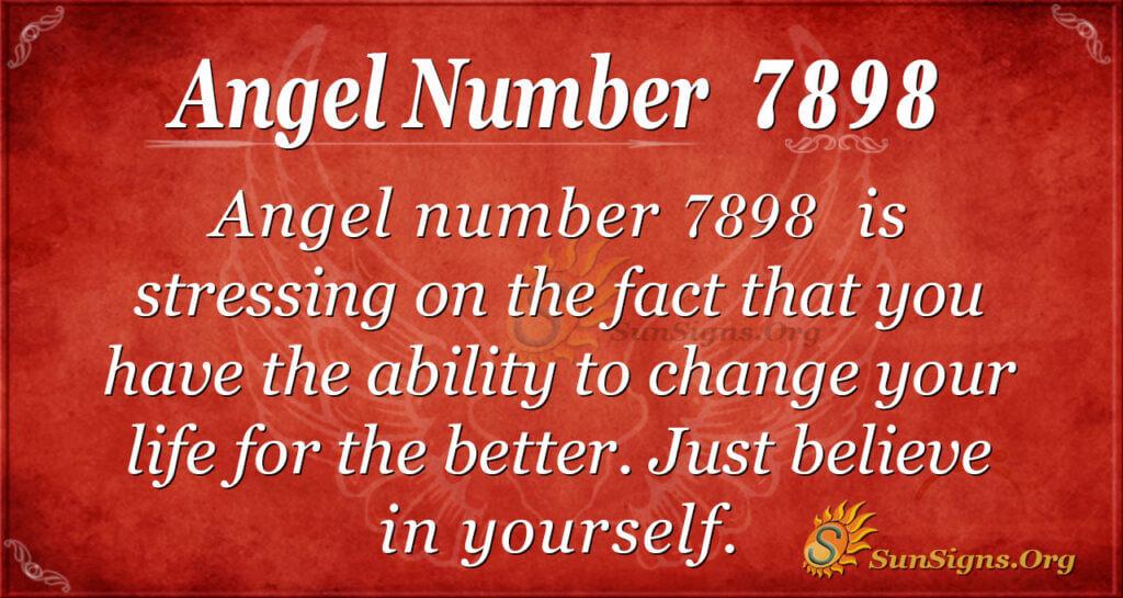 7898 angel number