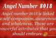 Angel number 8018
