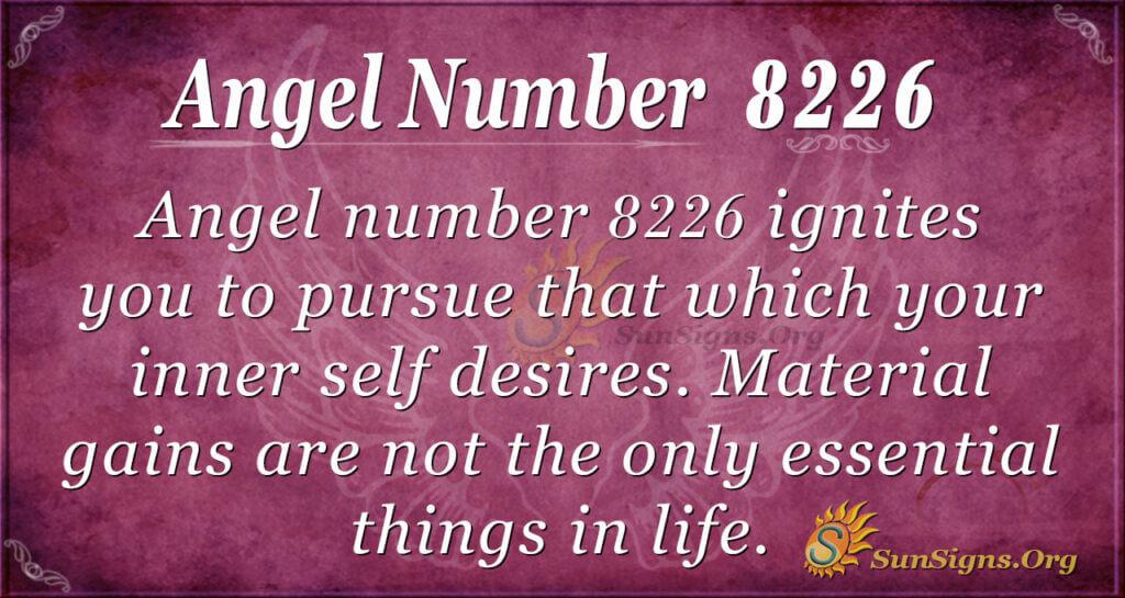 8226 angel number