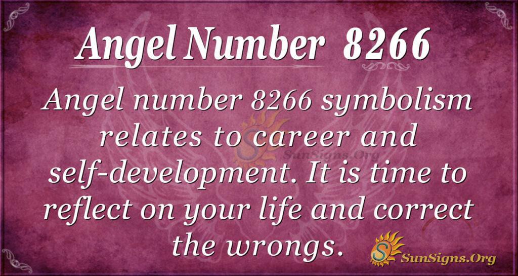8266 angel number