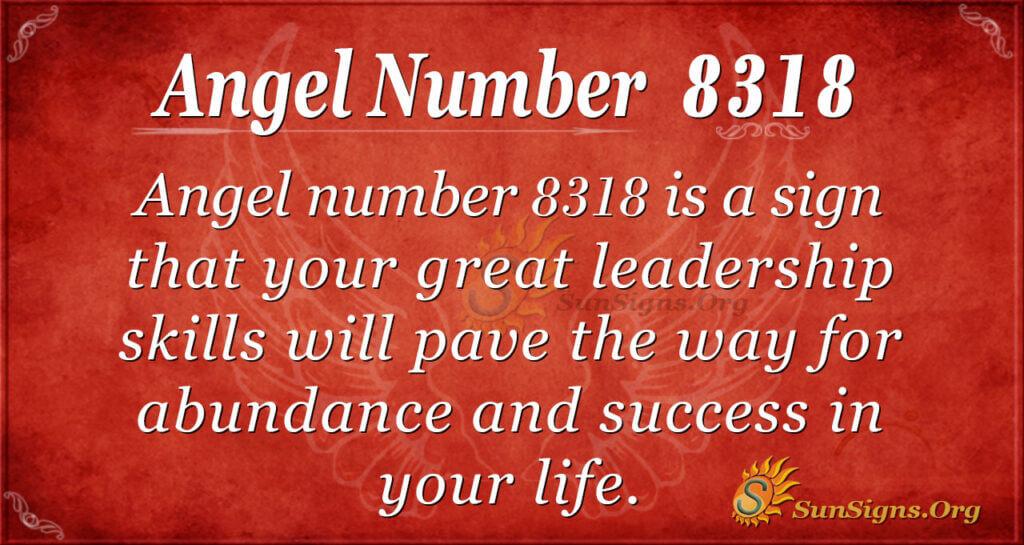8318 angel number