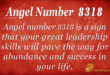 8318 angel number