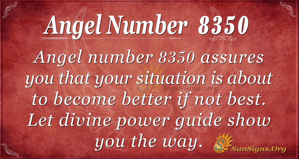 Angel number 8350