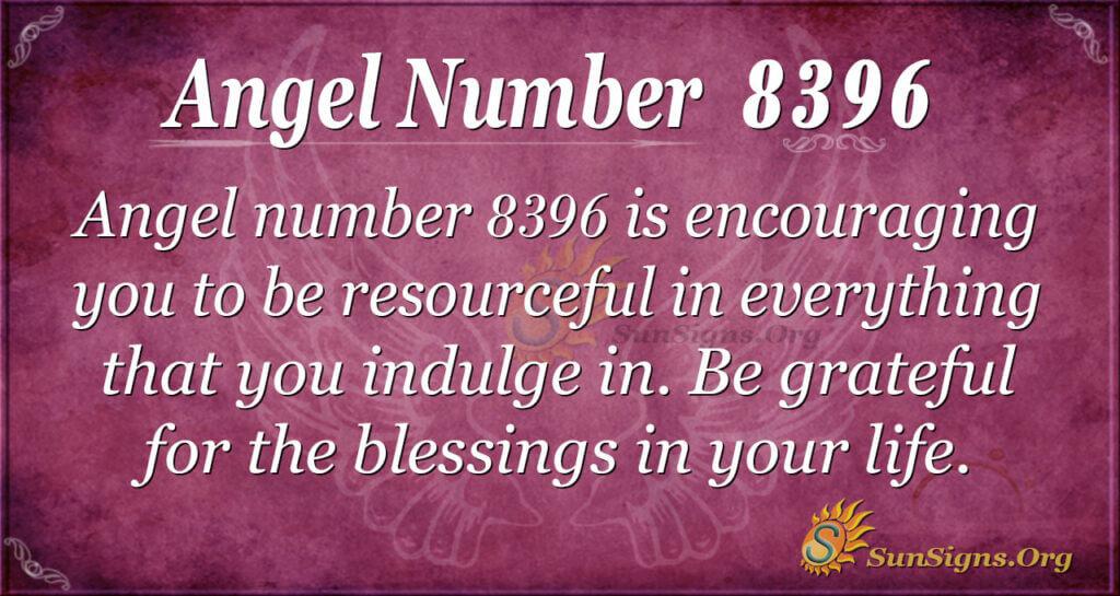 8396 angel number