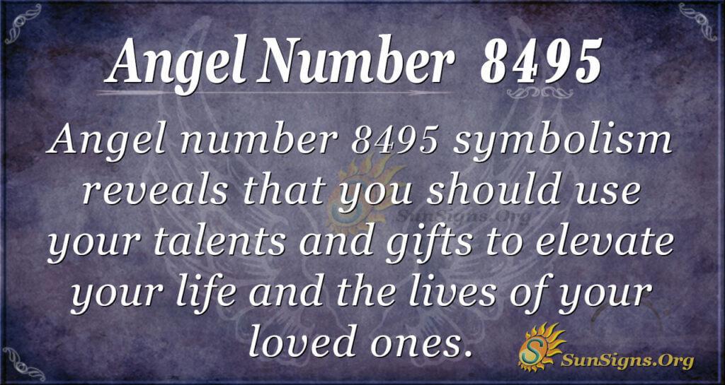 8495 angel number