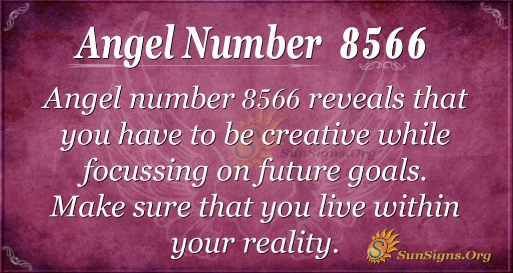 Angel number 8566