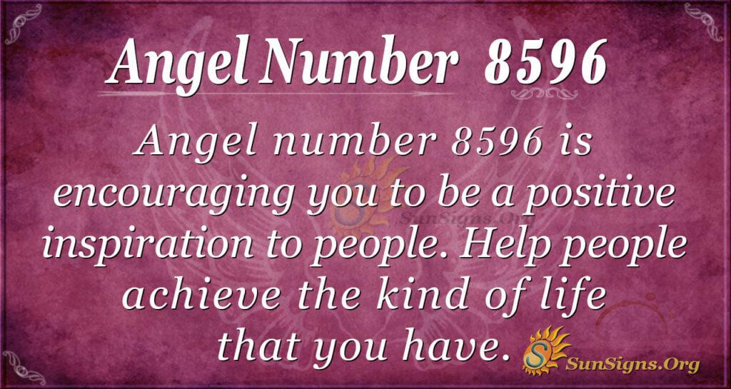 Angel Number 8596