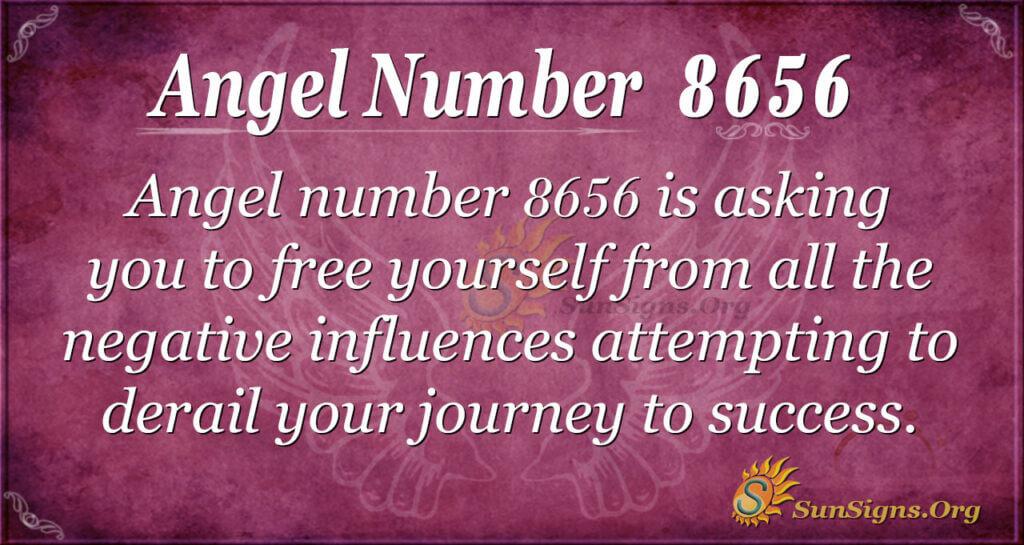 Angel number 8656