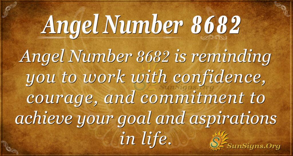 Angel Number 8682