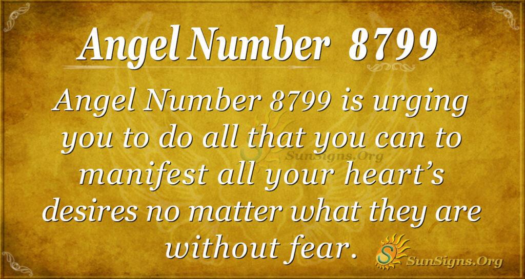Angel Number 8799