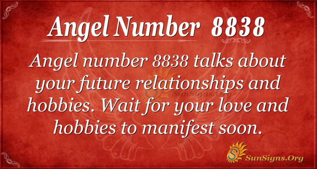 8838 angel number