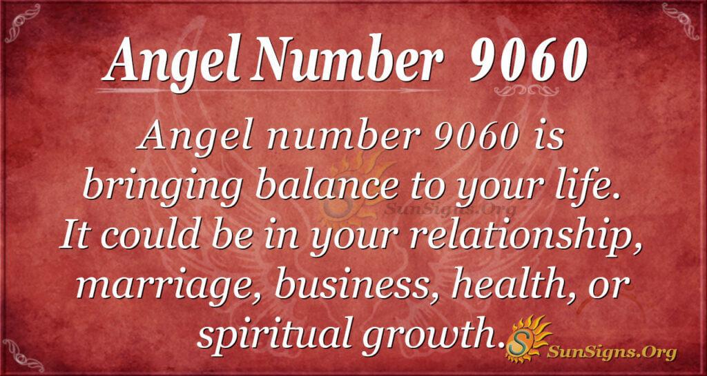 9060 angel number