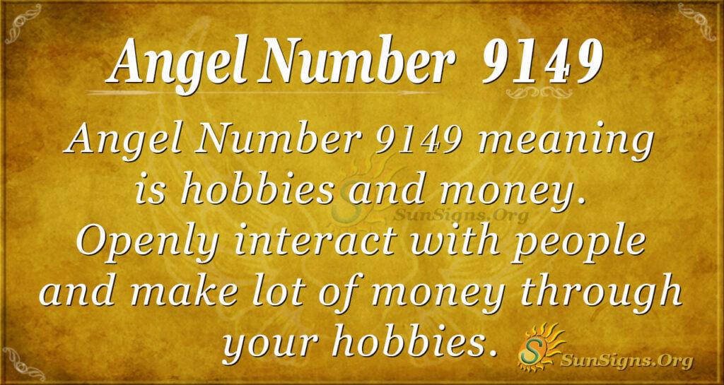 Angel number 9149