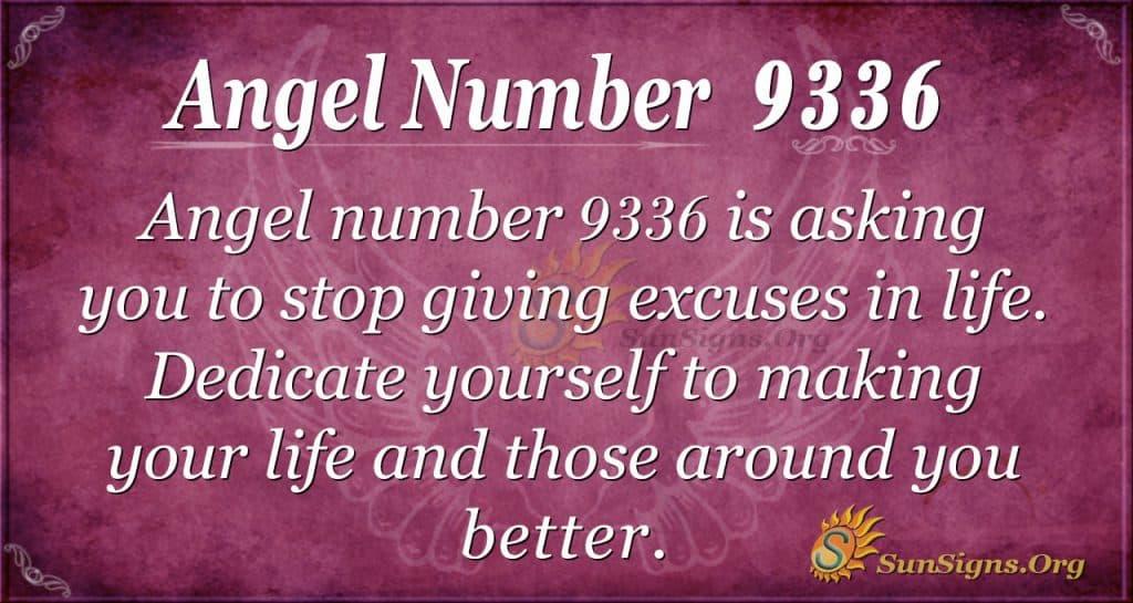 Angel number 9336