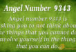 Angel number 9343