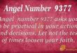 Angel number 9377