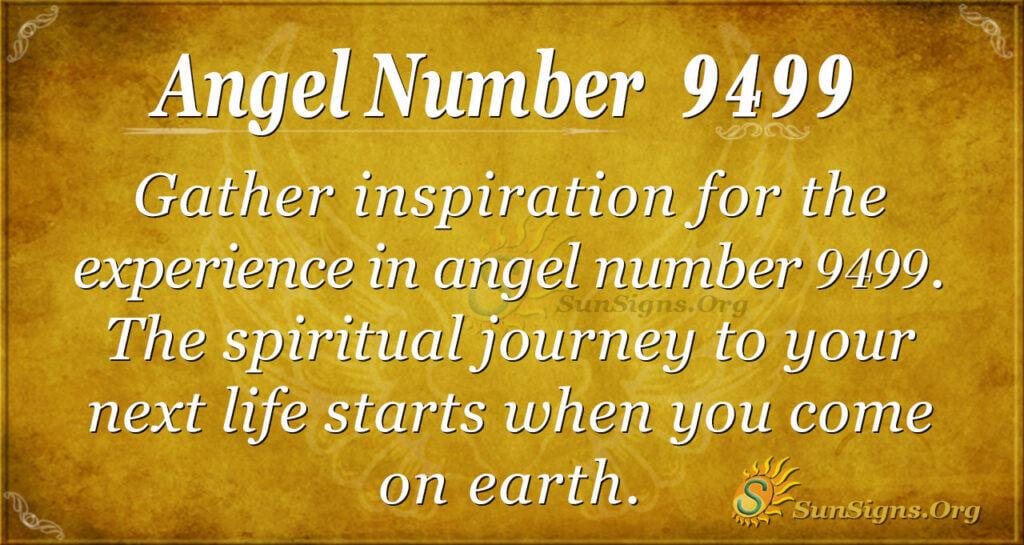 Angel number 9499