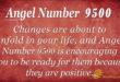 Angel number 9500