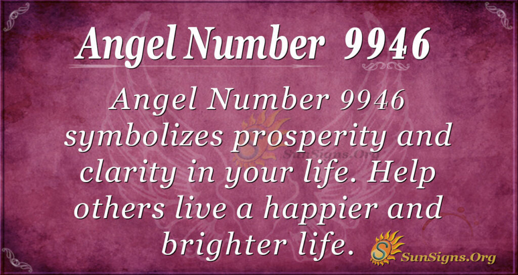 Angel number 9946