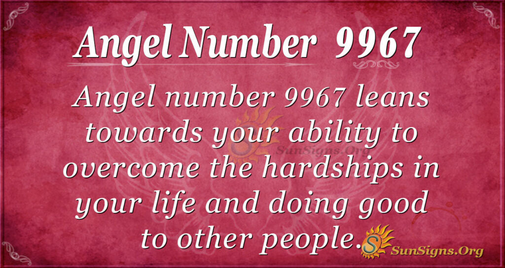 Angel number 9967