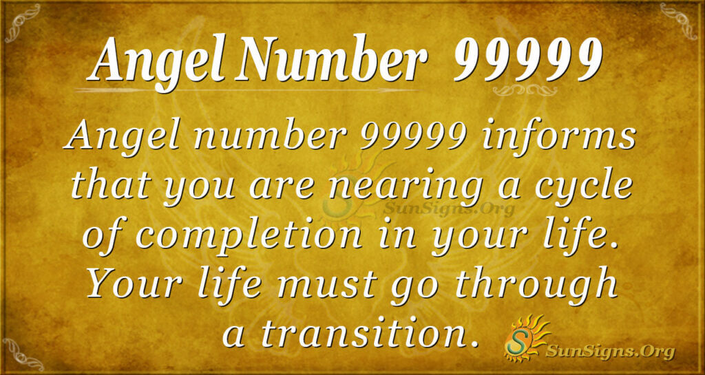 Angel number 99999