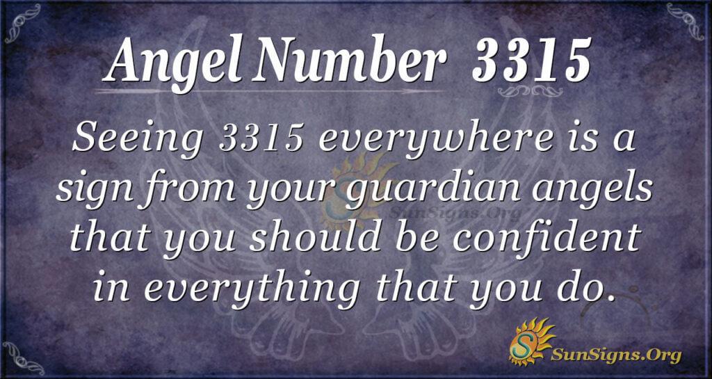 3315 angel number