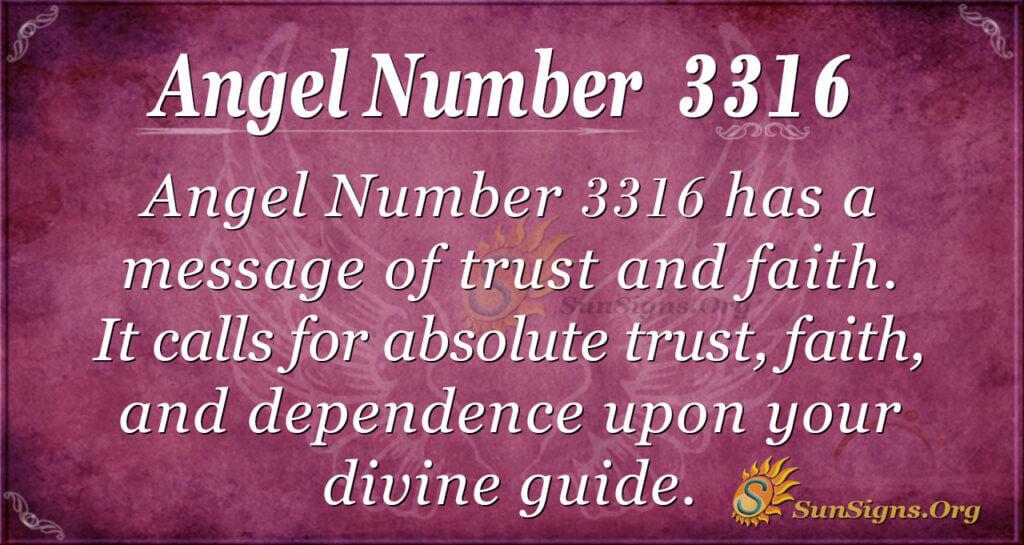3316 angel number