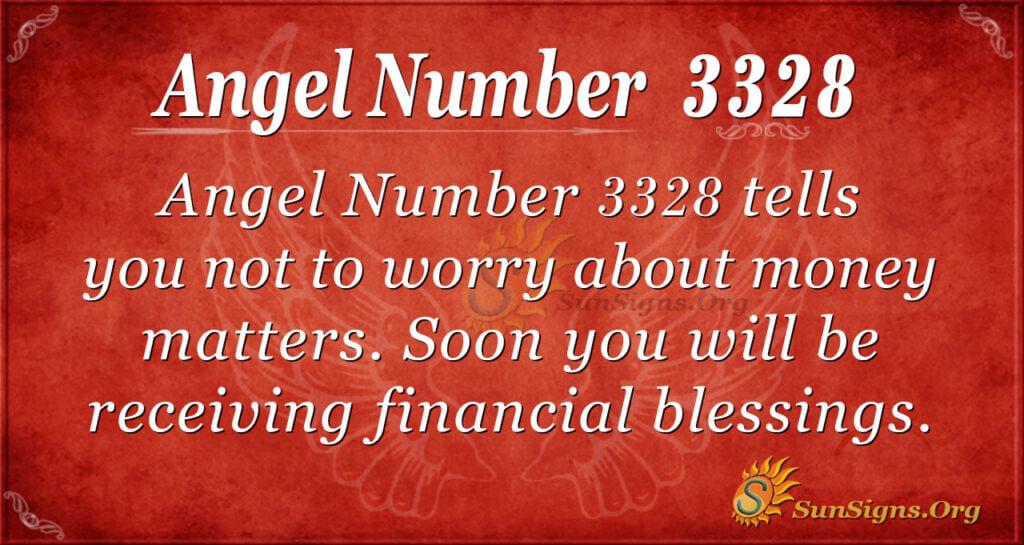 angel number 3328