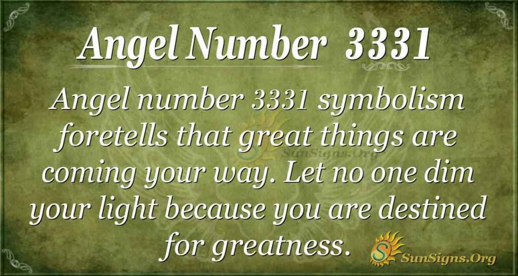 3331 angel number