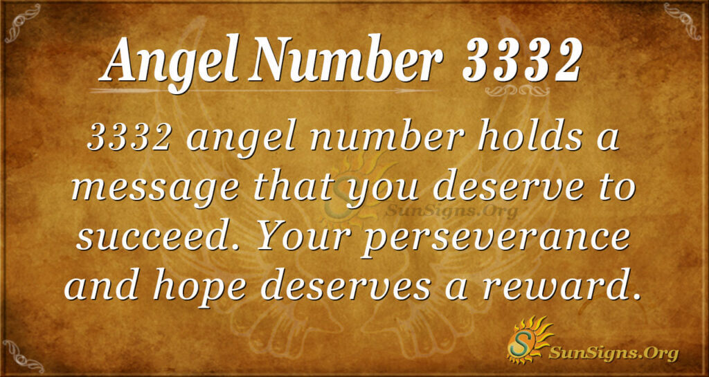 3332 angel number