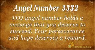 3332 angel number