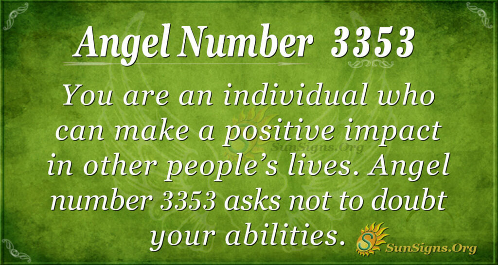 3353 angel number