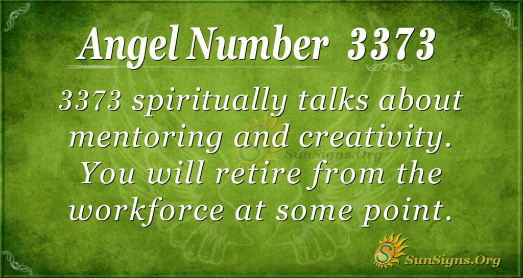 3373 angel number