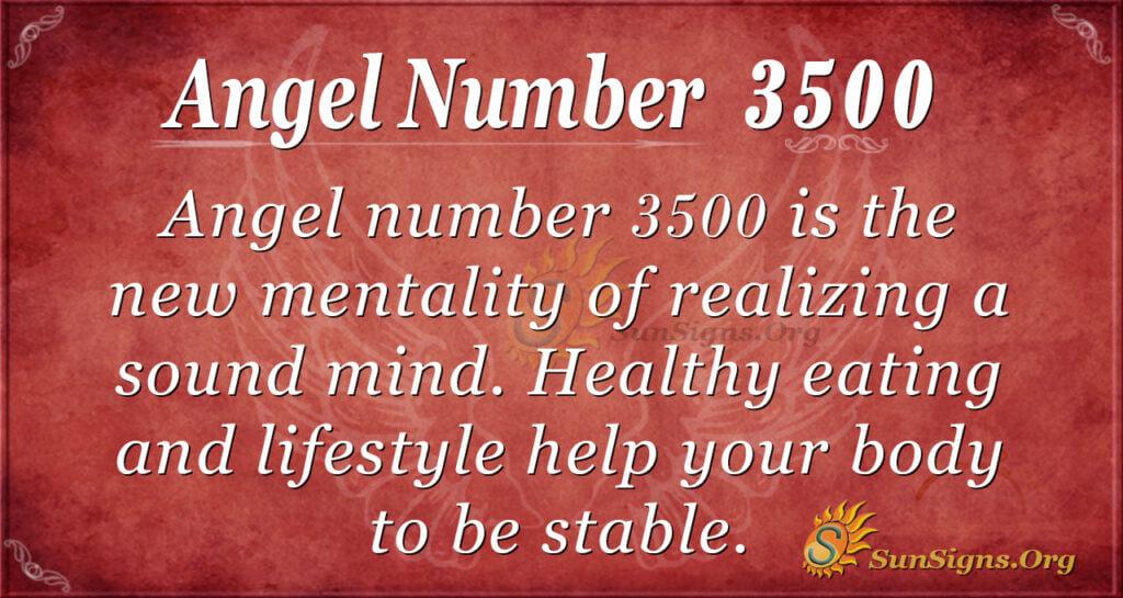 3500 angel number