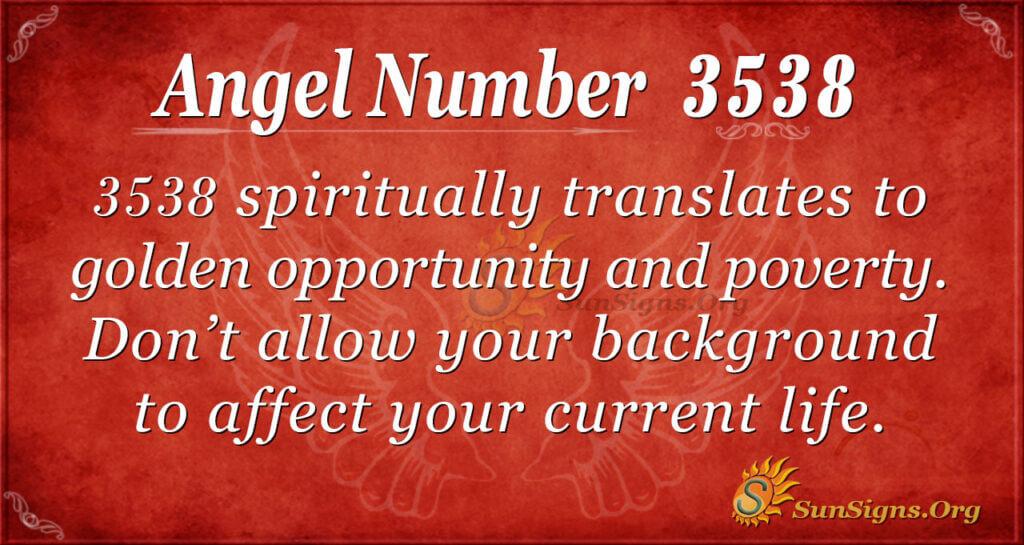 3538 angel number