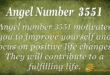 Angel number 3551