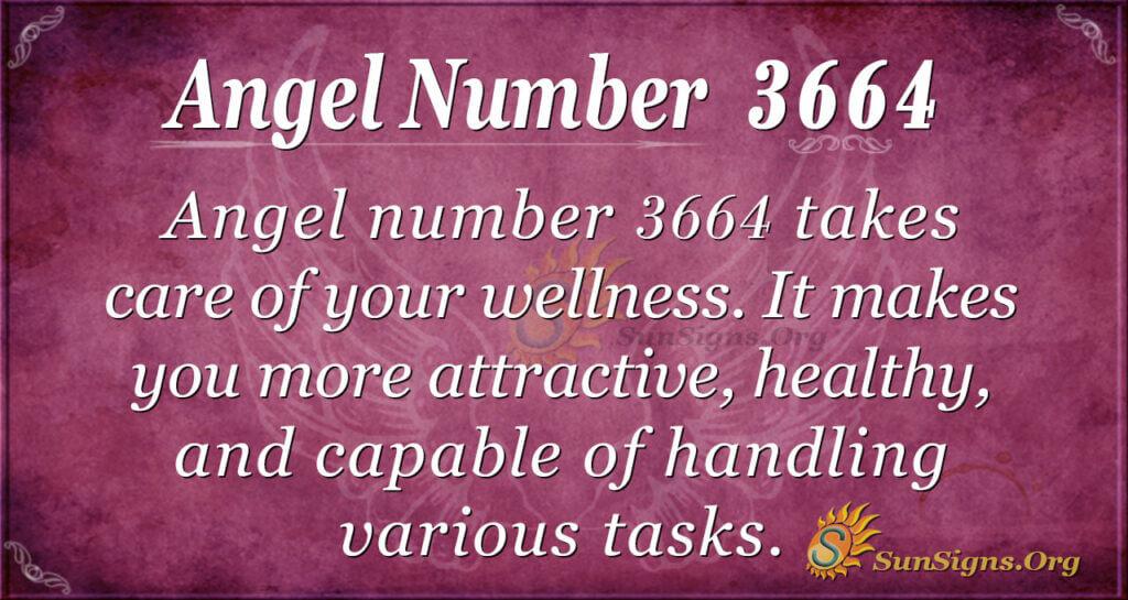 3664 angel number