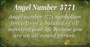 3771 angel number