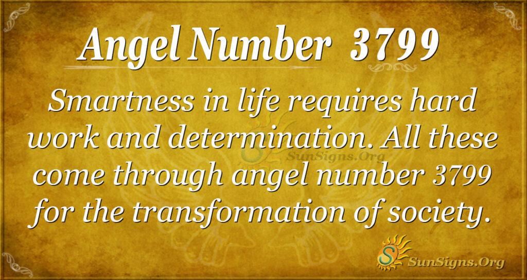 3799 angel number