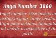 Angel number 3860